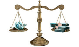 Inequality Scales Of Justice Income Gap Brazil Royalty Free Stock Photo