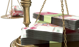 Inequality Scales Of Justice Income Gap China Stock Photography