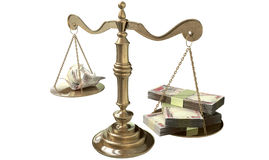 Inequality Scales Of Justice Income Gap India Royalty Free Stock Photos