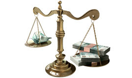 Inequality Scales Of Justice Income Gap Russia Royalty Free Stock Image