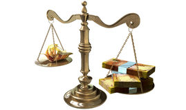 Inequality Scales Of Justice Income Gap South Africa Royalty Free Stock Photography