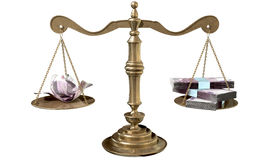 Free Inequality Scales Of Justice Income Gap Europe Stock Photos - 37737583