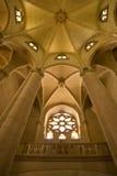 Inerior of Tibidabo basilica Royalty Free Stock Photography