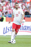 Inernational Friendly football game Filip Starzynski Stock Photography