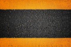 Ines движения на вымощенных дорогах Стоковое фото RF