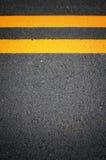 Ines движения на вымощенных дорогах Стоковое Изображение RF