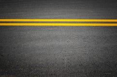 Ines del tráfico en los caminos pavimentados Fotografía de archivo libre de regalías