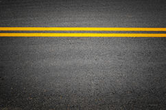 Ines of traffic on paved roads Royalty Free Stock Photography