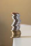 Inestabilidad financiera Fotografía de archivo libre de regalías
