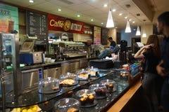 Inetrior καφέδων Στοκ φωτογραφία με δικαίωμα ελεύθερης χρήσης