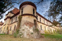 Ineu castle. A stronghold certified since 1295 in west of Romania Stock Photography