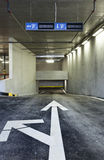 Inew underground parking Stock Photos