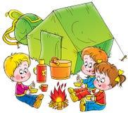 Infância 021 ilustração do vetor