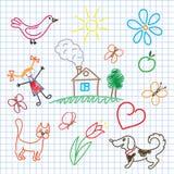 Infância ilustração royalty free