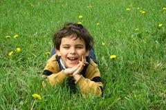 A infância. Imagens de Stock Royalty Free