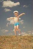 Infância feliz Fotografia de Stock