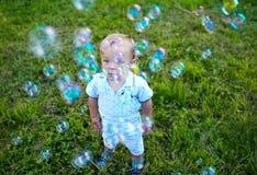 Infância feliz Fotos de Stock