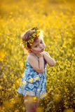 Infância feliz Foto de Stock