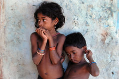 Infância tribal Foto de Stock Royalty Free