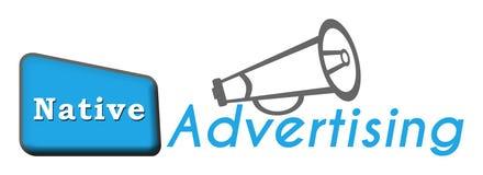 Infödd advertizing Fotografering för Bildbyråer