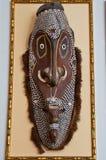 Aboriginal maskera Arkivbild