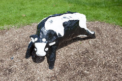 Infamous concrete cows in Milton Keynes Royalty Free Stock Photography