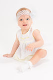 Infant age ten months Royalty Free Stock Image
