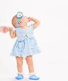 Infant age ten months Royalty Free Stock Images