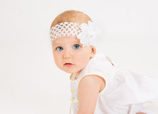Infant age ten months Royalty Free Stock Photography