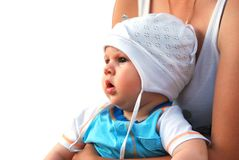 Infant baby Royalty Free Stock Image
