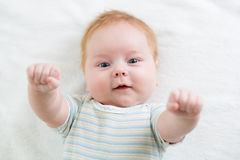 Infant baby Royalty Free Stock Photo