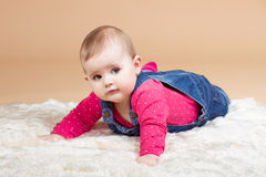 Infant baby Royalty Free Stock Photography