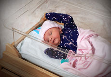 Infant Baby Going Home Royalty Free Stock Images