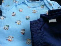 Infant boy onesie Stock Images
