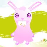 Infant bunny vector Stock Photography