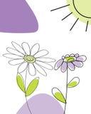 Infant card. Hand drawn infant card for design use stock illustration
