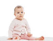 Infant child baby girl Stock Images