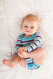 Infant girl Royalty Free Stock Images