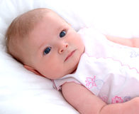 Infant Girl Stock Photography