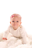 Infant girl Stock Photos