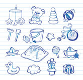 Infant Icon set Stock Images