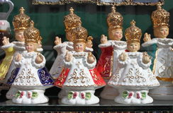 The Infant Jesus of Prague. Some statues of the Infant Jesus of Prague Royalty Free Stock Photography