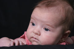 Infant Looks away Royalty Free Stock Photo