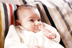 Infant Royalty Free Stock Photography
