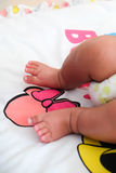 Infant's small feet Royalty Free Stock Photos