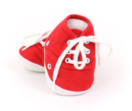 Infant shoes Royalty Free Stock Photos
