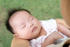 Infant sleeping Royalty Free Stock Image