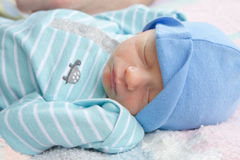 Infant Sleeping Royalty Free Stock Image