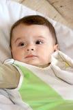 Infant smile. Royalty Free Stock Photos