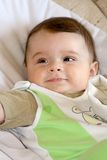 Infant smile. Stock Images